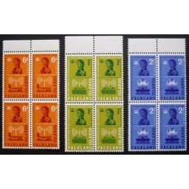 Falkland Islands 1962 SG 208 - 210