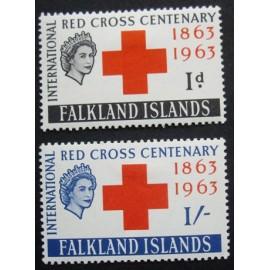 Falkland Islands 1963 SG 212 + 213