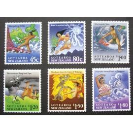 New Zealand 1994 SG 1807 - 1812