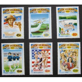 New Zealand 1993 SG 1771 - 1776