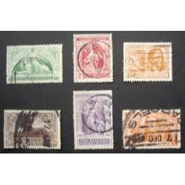 New Zealand 1920 SG 453 - 458