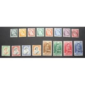 New Zealand 1953 SG723 - 736