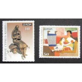 Cyprus 1993  SG831 + 832 SPECIMEN