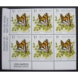 New Zealand 1991 Butterflies SG1635-1637