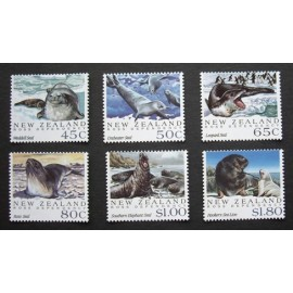New Zealand 1992 Antarctic Seals  SG1664-1669