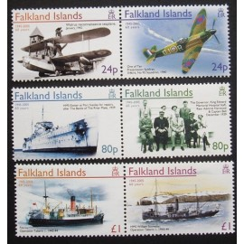 Falkland Islands 2005 SG1015 - 1020 U/M