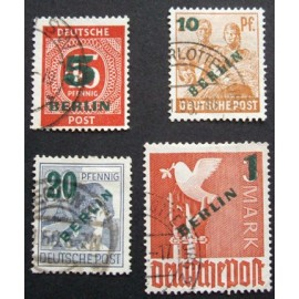 Germany, Berlin 1949 SG B64 - B67 Used