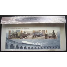 2012 Classic Locomotives Scotland Presentation Pack No 468