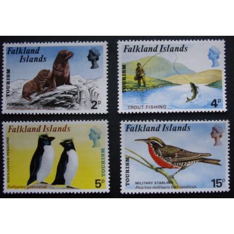 Falkland Islands 1974 SG 296 - 299 Tourism U/M