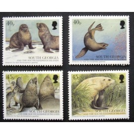South Georgia and Sandwich Islands 2002 SG349 - 352 U/M
