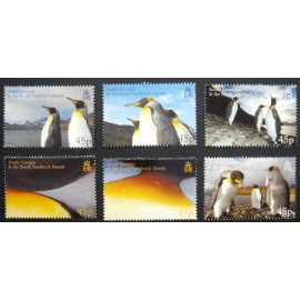 South Georgia and Sandwich Islands 2005 SG411 - 416 U/M