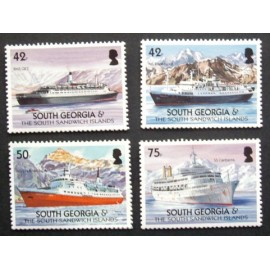 South Georgia and Sandwich Islands 2004 SG386 - 389 U/M