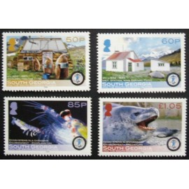 South Georgia and South Sandwich Islands 2008 SG445 - 448 U/M