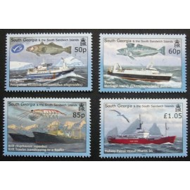 South Georgia and South Sandwich Islands 2008 SG449 - 452 U/M