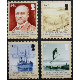South Georgia and South Sandwich Islands 2004 SG403 - 406 U/M