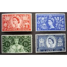 Coronation SG 532 - 535